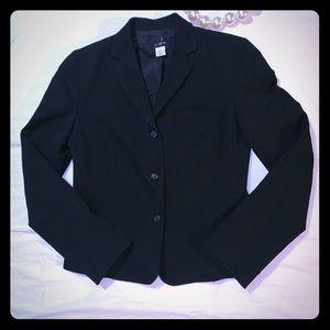J.Crew Preppy Women's Blazer Jacket Black Size 6